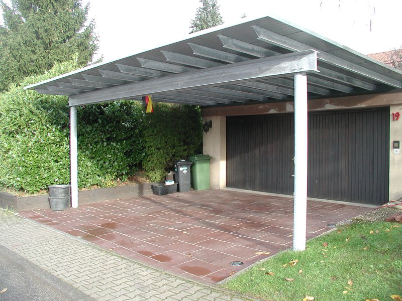 carport mit wellblech nabcd. Black Bedroom Furniture Sets. Home Design Ideas